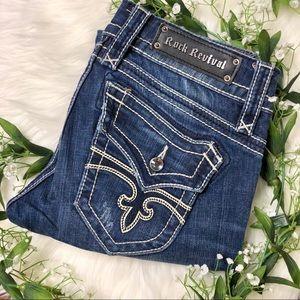 Rock Revival | Christina Distressed Skinny Jeans